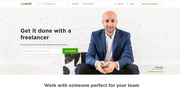 Beginning to set up your Upwork account